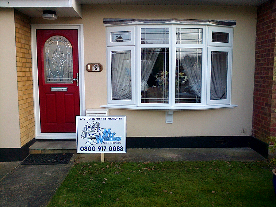 mr window, casement window, paneled front door, composite front door, southend, essex, double glazed, upvc