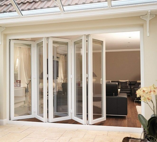 Bi-Fold Doors all come with a 10 year guarantee