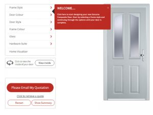 Click for Door Designer Price Calculator