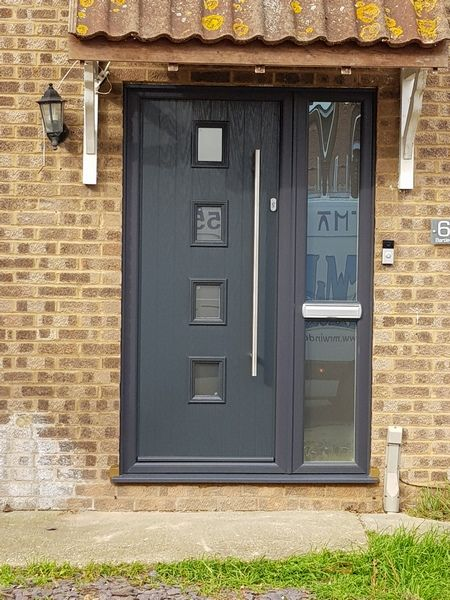 Solidor Composite Door Complete With Multi Locking System