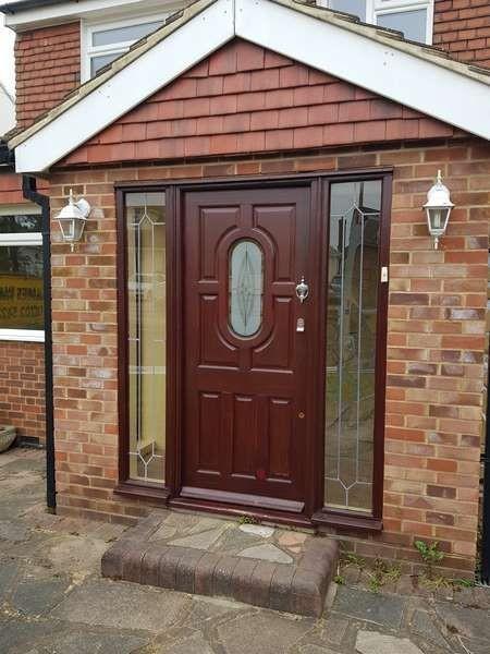 Composite Door Before
