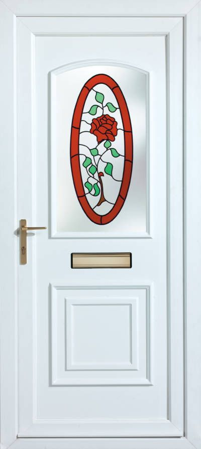 Panelled Doors - Kendal Cameo Rose