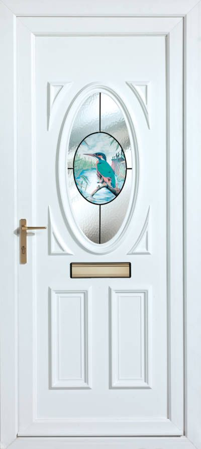Panelled Doors - Kingfisher