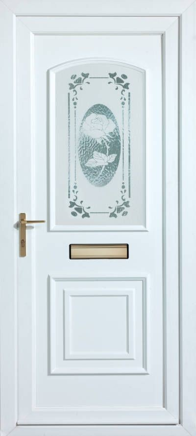Panelled Doors - Victorian Rose