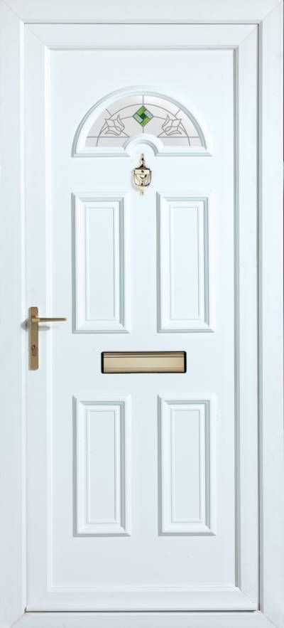 Panelled Doors - York Ancona Emerald