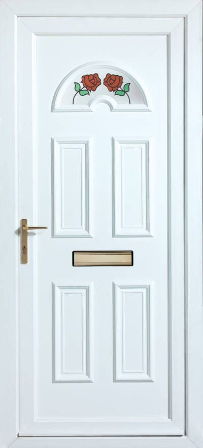 Panelled Doors - York Climbing Rose