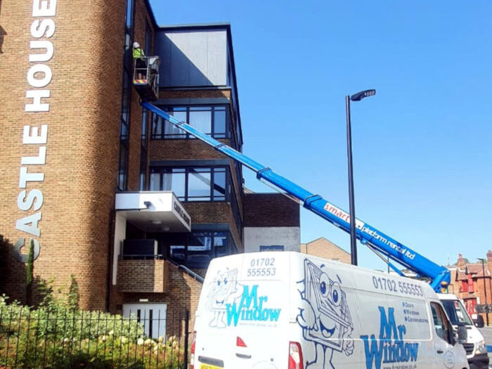Castle House - High Wycombe ommercial Window Project